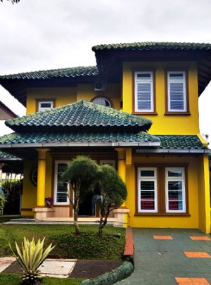 villa puncak resort