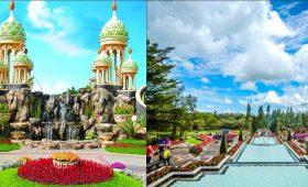 kota bunga vs taman bunga
