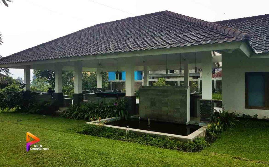 sewa villa murah di puncak ada kolam renang 34