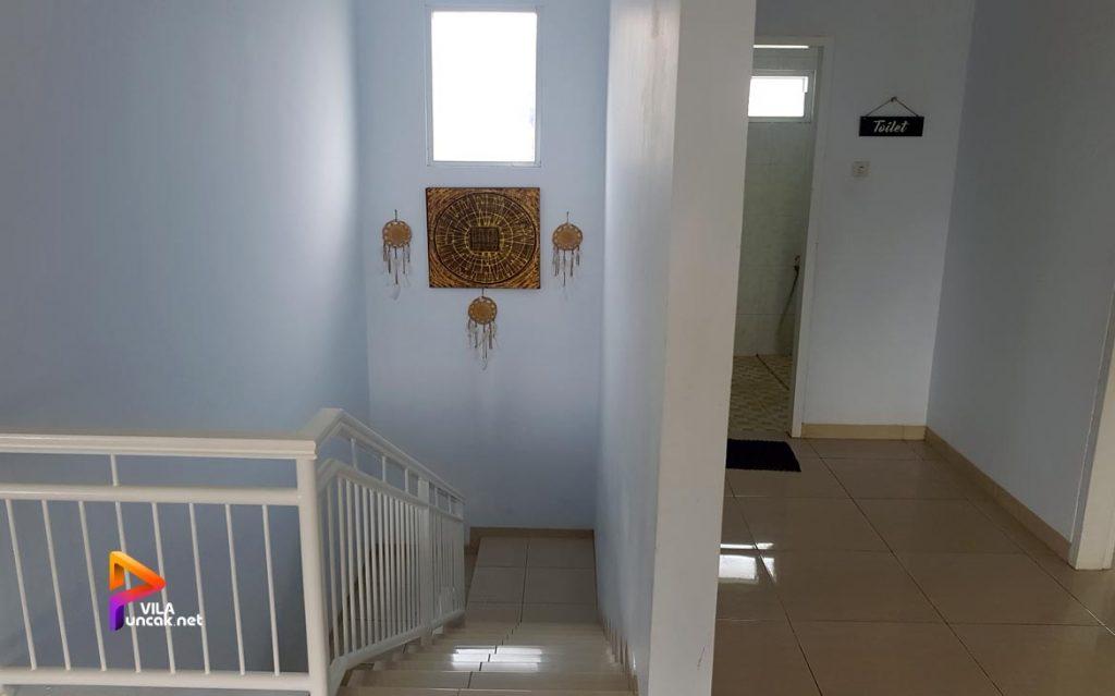 villa di cibodas puncak 5 kamar murah kolam renang pribadi 12