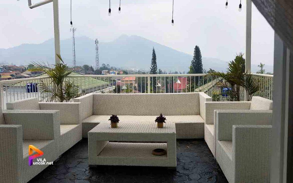 villa di cibodas puncak 5 kamar murah kolam renang pribadi 14