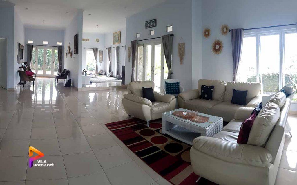 villa di cibodas puncak 5 kamar murah kolam renang pribadi 9