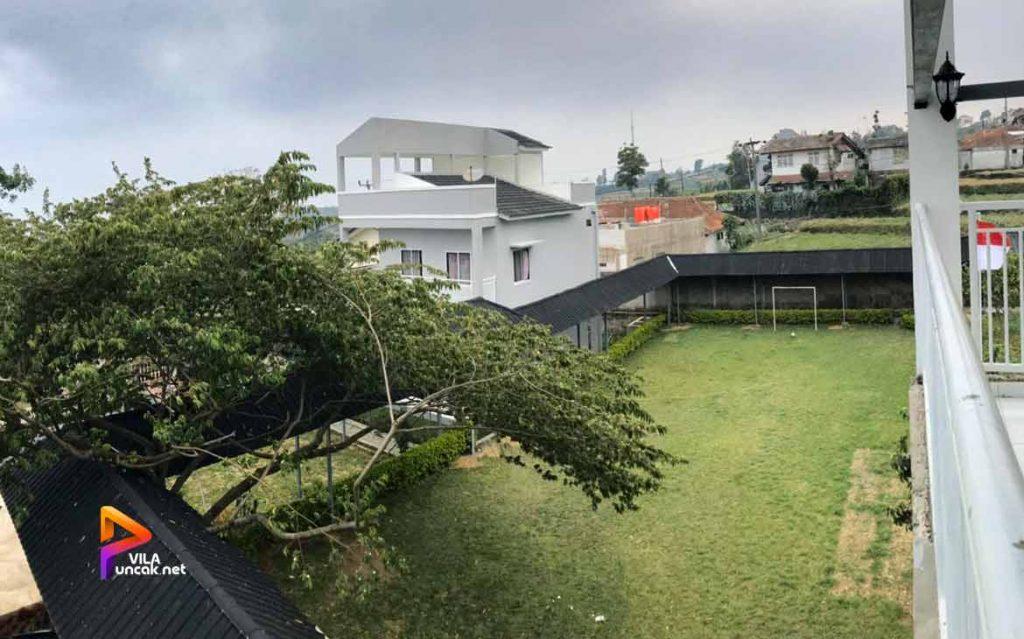 villa untuk rombongan di puncak