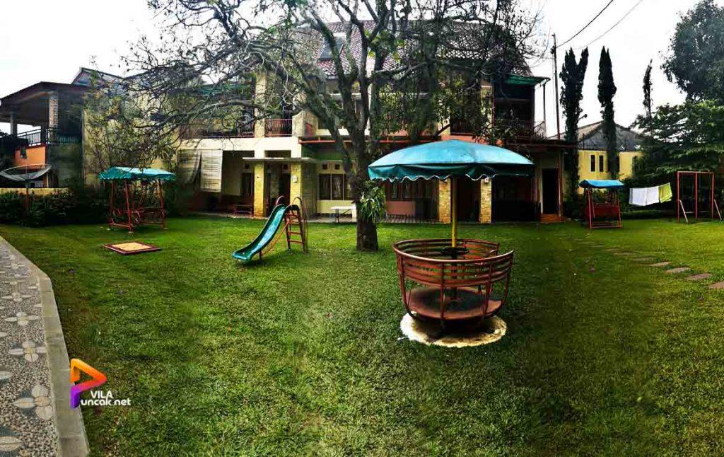 Villa Kapasitas 50 Orang di Puncak