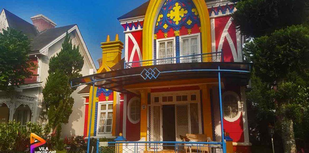 sewa villa kota bunga 4 kamar